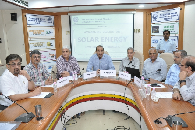 Seminar on Leveraging opportunities in Solarisation of energy requirements 10-09-2018
