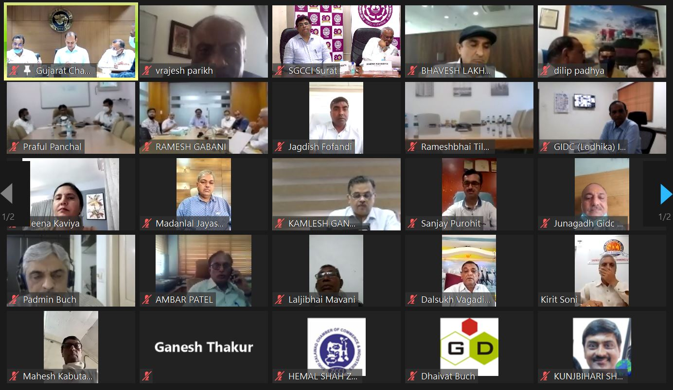 Video Conference with Dr. Rahul Gupta, IAS, Industries Commissioner and Chairman iNDEXTb discussion
