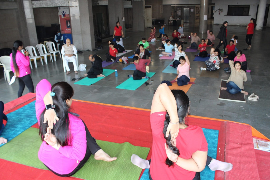 Yoga at Home with different health issues 24-01-2021